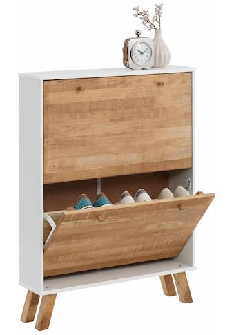 Home affaire Schuhschrank, Rondo», mit 2 Klappen, Breite 75 cm kaufen
