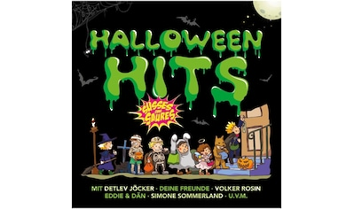 Musik - CD HALLOWEEN HITS  -  LIEDER ZUM GRUSELN UND FEIERN / Diverse Kinder, (1 CD) kaufen