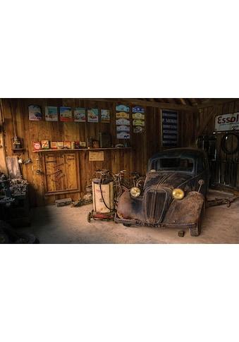 Consalnet Vliestapete »Alte Werkstatt«, verschiedene Motivgrößen, für die Küche kaufen