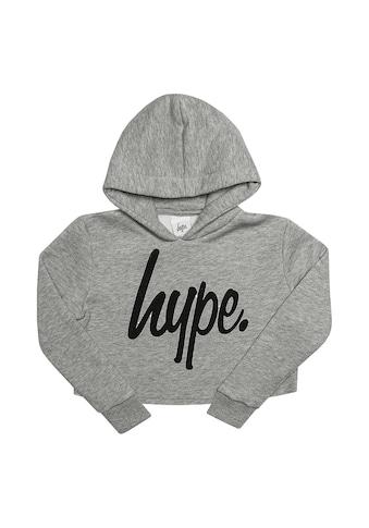 Hype Kapuzenpullover »Mädchen Script Crop Hoodie« kaufen