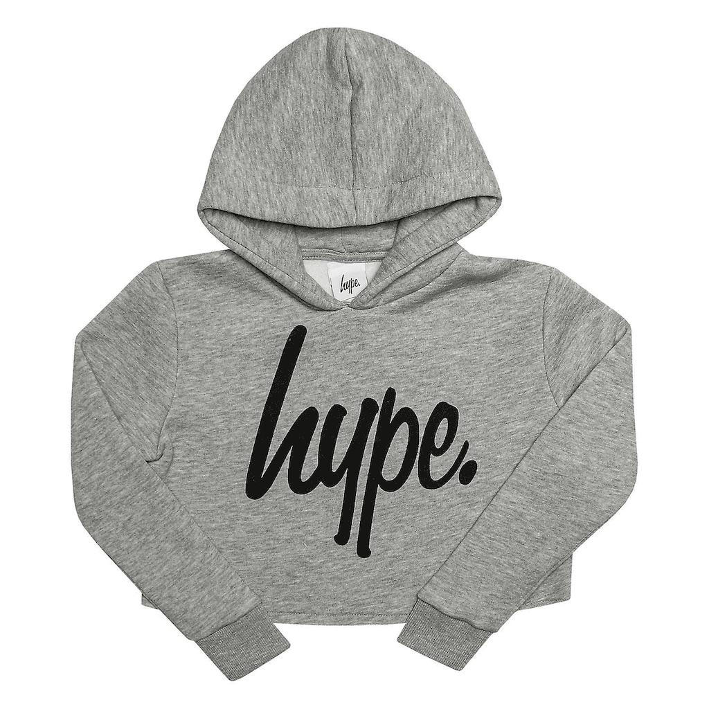Hype Kapuzenpullover »Mädchen Script Crop Hoodie«