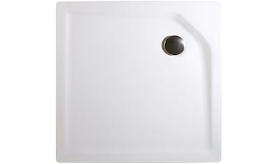 Schulte Duschwanne »extra - flach«, quadratisch, verschiedene Breiten und Tiefen kaufen
