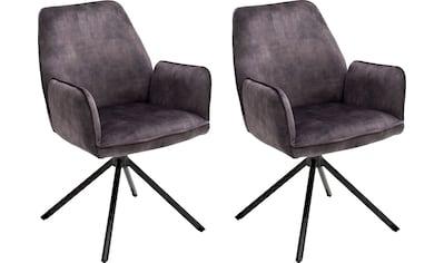 """MCA furniture Esszimmerstuhl """"Ottawa mit Armlehne"""", 2er - Set kaufen"""