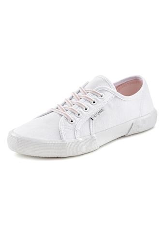 LASCANA Sneaker, mit stretchigen Schnürbändern kaufen
