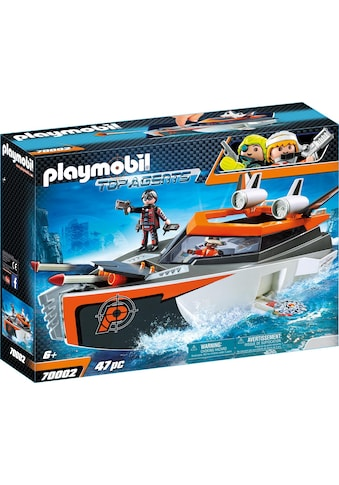 "Playmobil® Konstruktions - Spielset ""Spy Team Turboship (70002), Top Agents"", Kunststoff kaufen"