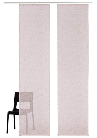 my home Schiebegardine »Tanaro«, Fertiggardine, inkl. Befestigungsmaterial, transparent kaufen