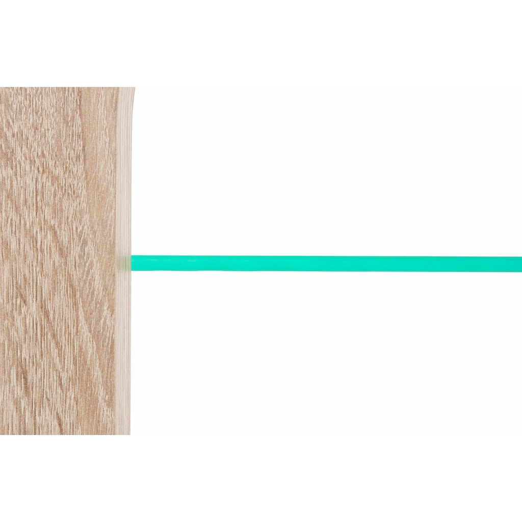 PRO Line Couchtisch, auf Rollen, inklusive LED-Beleuchtung