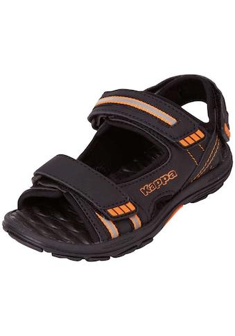 Kappa Sandale »SYMI TEENS«, mit drei praktischen Klettverschlüssen für einen optimalen... kaufen