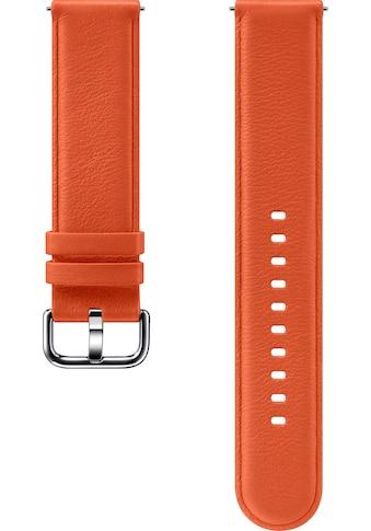 Samsung Ersatz - /Wechselarmband »Lederarmband für Galaxy Watch Active2« kaufen