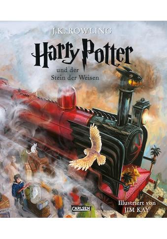 Buch Harry Potter und der Stein der Weisen (farbig illustrierte Schmuckausgabe) (Harry Potter 1) / J.K. Rowling; Klaus Fritz; Jim Kay kaufen
