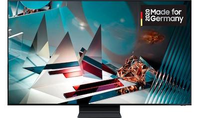 Samsung GQ65Q800T QLED - Fernseher (163 cm / (65 Zoll), 8K, Smart - TV kaufen