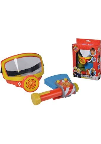 SIMBA Spielzeug-Sauerstoffmaske »Feuerwehrmann Sam, Feuerwehr Sauerstoffmaske«, mit... kaufen