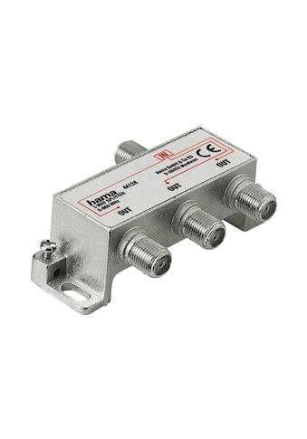 Hama Breitband - Kabelverteiler, 3 - fach, voll geschirmt »Antennenverteiler« kaufen