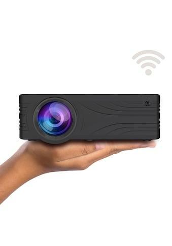 LA VAGUE LED-Beamer »LV-HD240 Wi-Fi«, ( 1000:1 ), schwarz, unterstützt 720p/1080p, ideal zum Streamen von Netflix kaufen