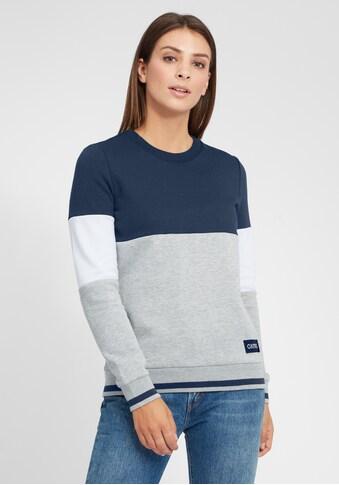 OXMO Hoodie »Omaya«, Sportlicher Sweatpullover mit kontrastreichem Muster kaufen