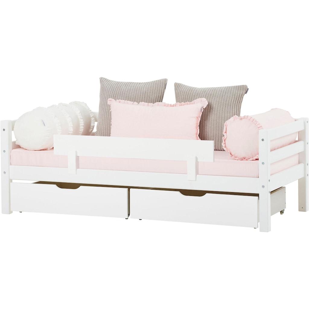 Hoppekids Einzelbett »BASIC«, (Set, 2 St., Bett und Matratzen)