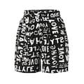 Aniston CASUAL Shorts, mit Wörtern bedruckt