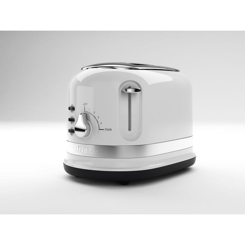 Ariete Toaster »149WH moderna weiß«, 2 kurze Schlitze, 815 W