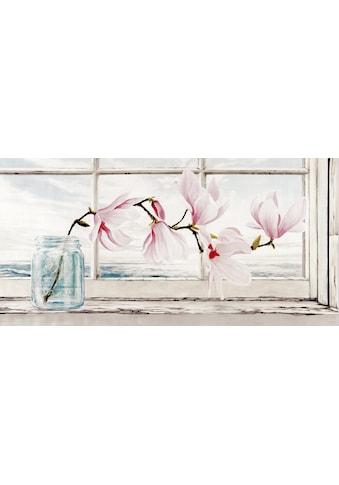 Home affaire Deco-Panel »REMY DELLAL / Magnolia«, (100/3/50 cm) kaufen