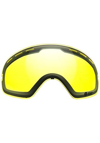 YEAZ Skibrille »XTRM-SUMMIT«, Ersatzglas mit Rahmen in gelb kaufen