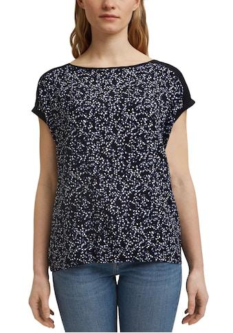 Esprit T-Shirt, mit verschiedenen Allover-Frontprints kaufen