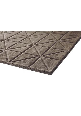 Teppich handgearbeiteter Konturenschnitt kaufen