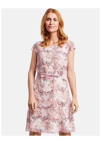 GERRY WEBER Kleid Gewebe »Kleid mit Stufen« kaufen