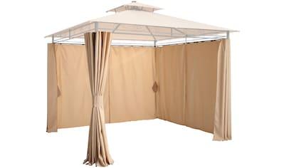 KONIFERA Pavillonseitenteile »Palma«, für 300x300 cm, beige kaufen