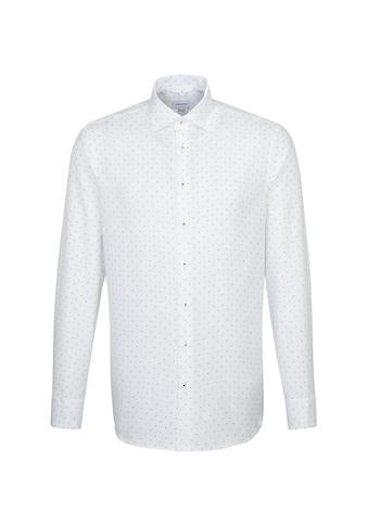 seidensticker Businesshemd »Regular«, Regular Langarm Kentkragen Punkte kaufen
