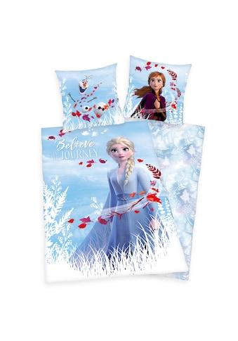 Renforcé Bettwäsche »Disney Frozen, die Eiskönigin II« kaufen