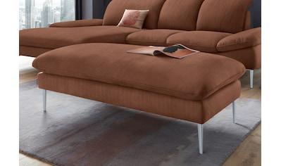 W.SCHILLIG Hocker »enjoy&MORE«, Füße silber matt, Breite 151 cm kaufen