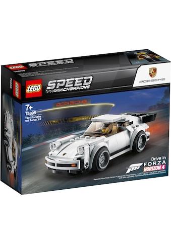 """LEGO® Konstruktionsspielsteine """"1974 Porsche 911 Turbo 3.0 (75895), LEGO® Speed Champions"""", (180 - tlg.) kaufen"""