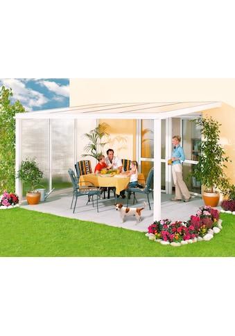 Beckmann Terrassendach »Exklusiv 1«, BxT: 307x271 cm, mit Regenrinne kaufen