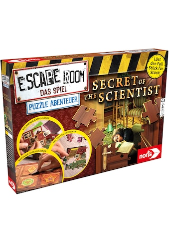 Noris Spiel »Escape Room Das Spiel, Puzzle Abenteuer - Secret of the Scientist« kaufen