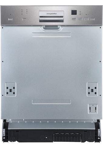 RESPEKTA teilintegrierbarer Geschirrspüler »GSP60VA++V«, GSP60VA++V, 14 Maßgedecke kaufen
