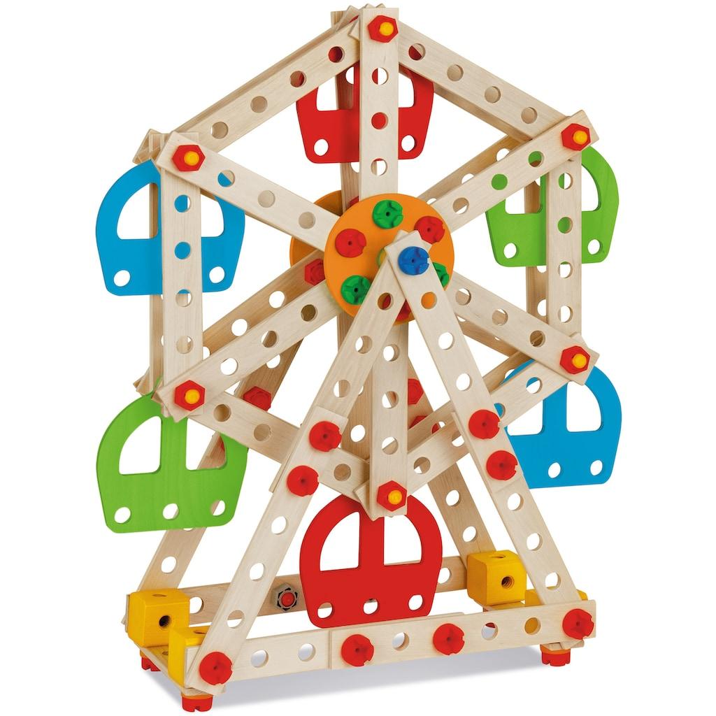 Eichhorn Konstruktionsspielsteine »Constructor Riesenrad«, (240 St.), Made in Germany, FSC®-Holz aus gewissenhaft bewirtschafteten Wäldern