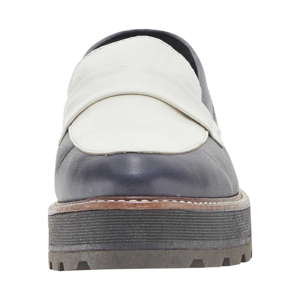 Slipper mit breiter Profil-Sohle