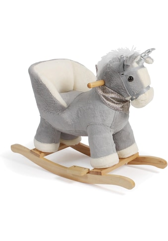 CHIC2000 Schaukeltier »Schaukel-Einhorn, grau« kaufen