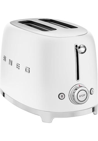 Smeg Toaster »TSF01WHMEU«, 2 kurze Schlitze, 950 W kaufen