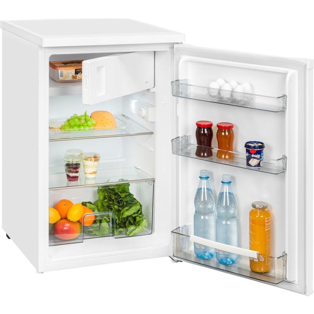 exquisit Kühlschrank »KS 16-1.1 A+++«, KS 16-1.1 A+++, 84,5 cm hoch, 56 cm breit