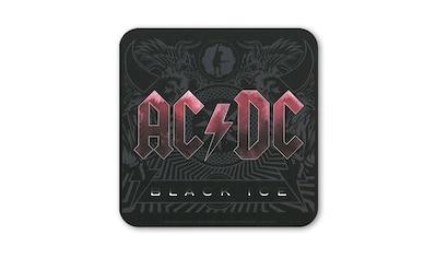 LOGOSHIRT Untersetzer im AC/DC  -  Black Ice - Design kaufen