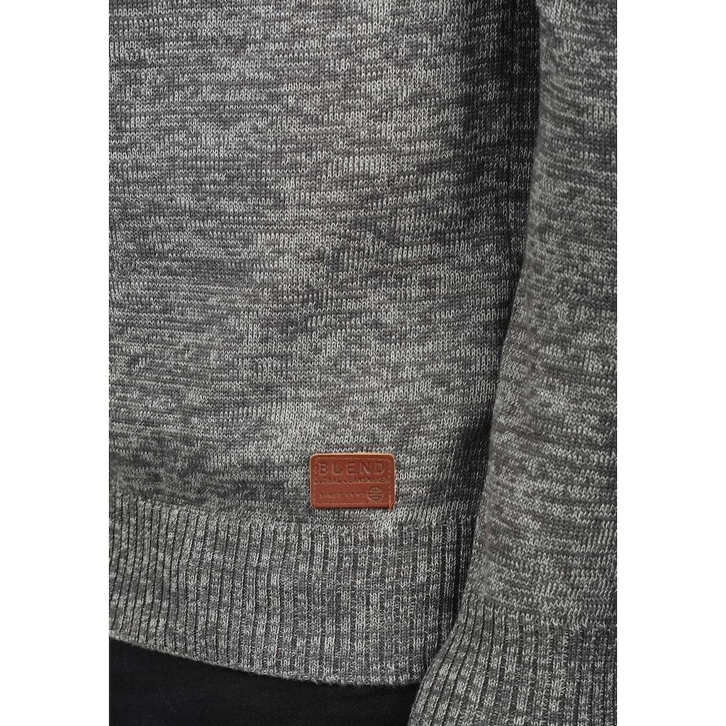 Blend Cardigan »Daniri«, Strickjacke mit hochabschließendem Kragen