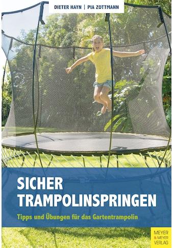 Buch »Sicher Trampolinspringen / Dieter Hayn, Pia Zottmann« kaufen