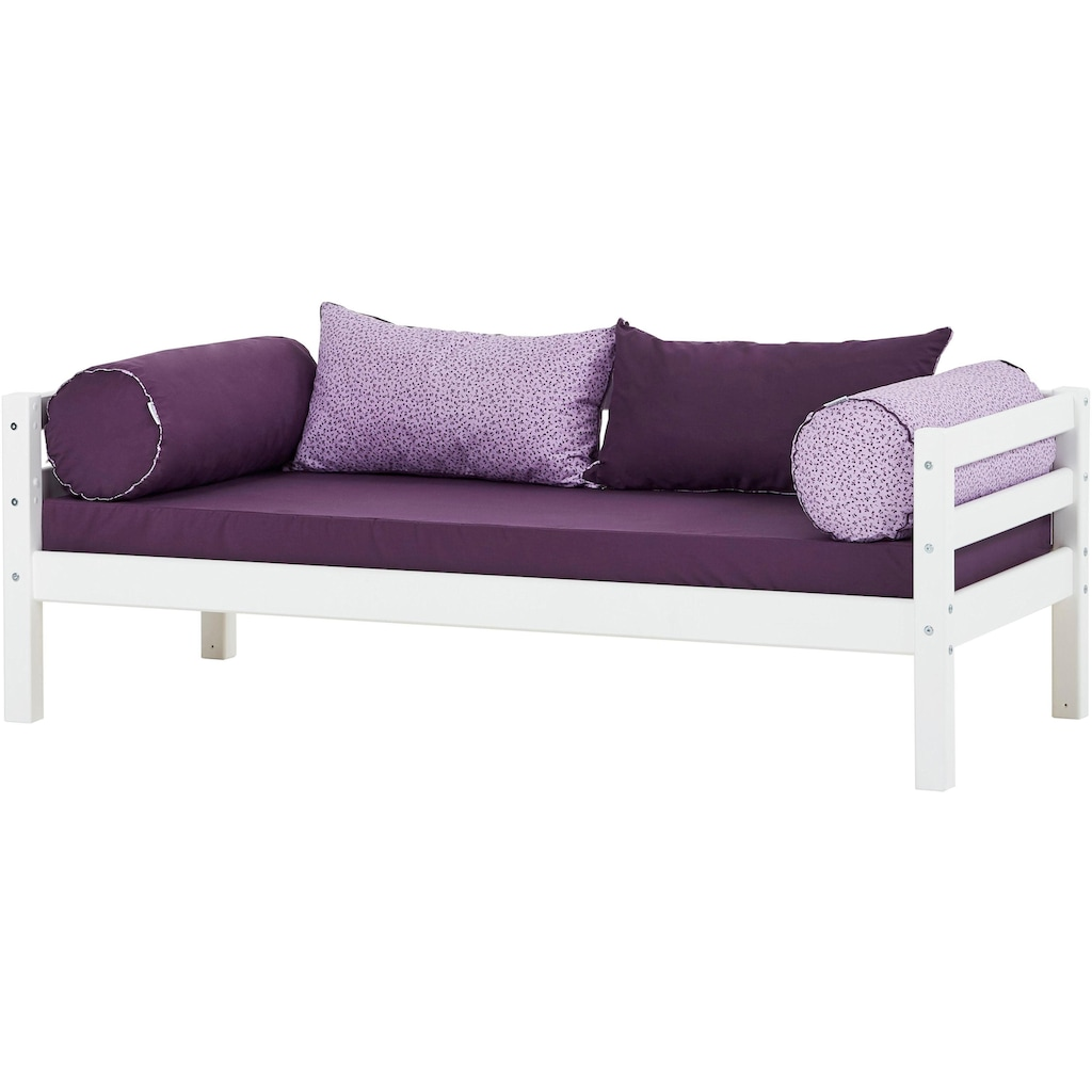 Hoppekids Einzelbett »BASIC«, (2 St., Bett und Matratzen)