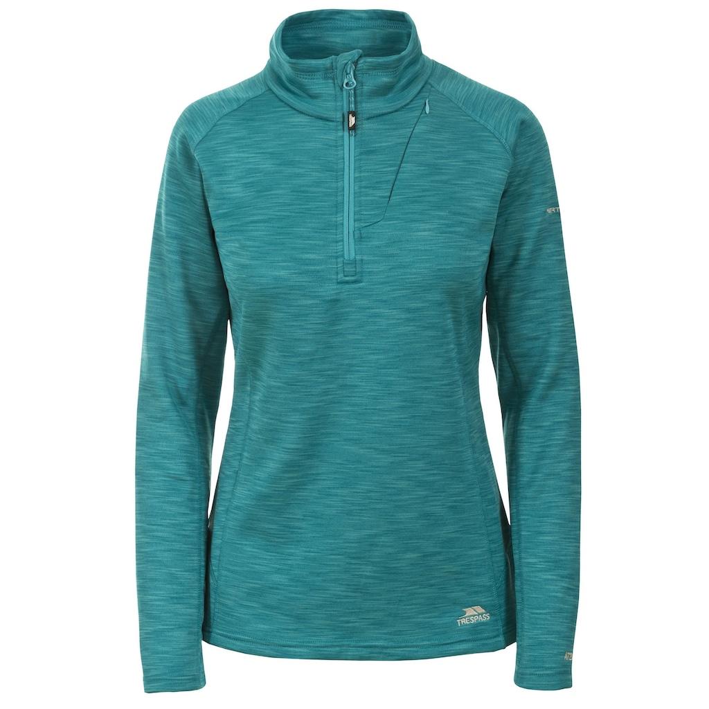 Trespass Fleecepullover »Damen Fairford Fleece-Oberteil / Fleece-Pullover mit Reißverschluss bis zur Brust«