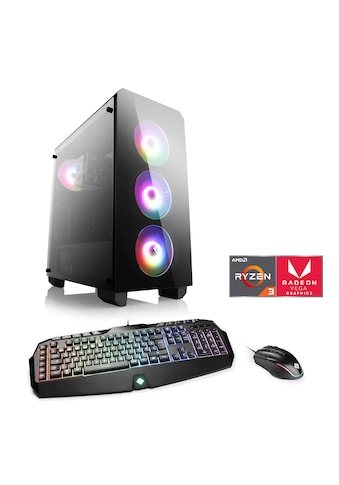 CSL Gaming-PC »Levitas T8118 Windows 10 Home«, AMD Ryzen 3 3200G | Vega 8 | 16 GB RAM... kaufen