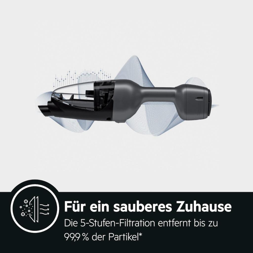 AEG Akku-Stielstaubsauger »QX9-1-UO«, mit Power Softrolle, PetProPlus-Elektrosaugbürste und weiterem Zubehör