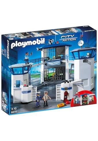 """Playmobil® Konstruktions - Spielset """"Polizei - Kommandozentrale mit Gefängnis (6872), City Action"""", Kunststoff kaufen"""