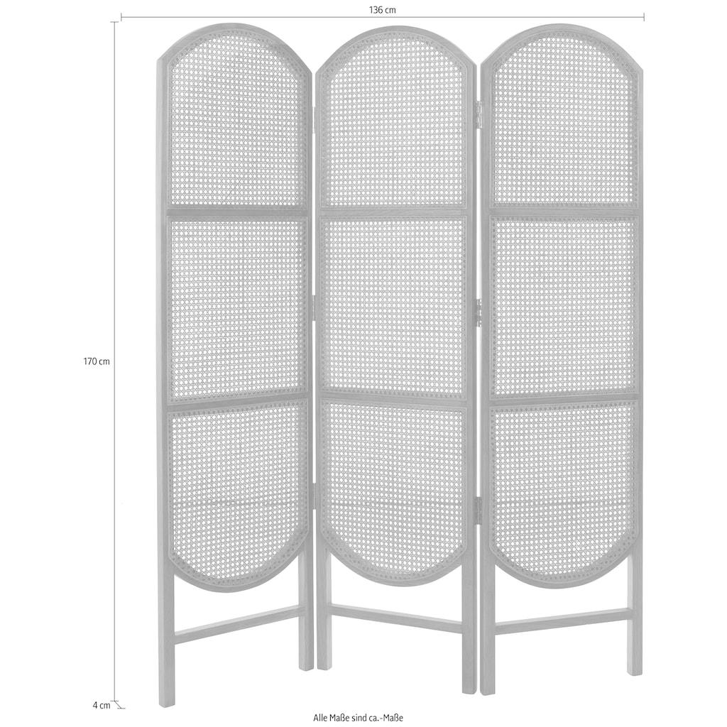LeGer Home by Lena Gercke Paravent »Alena«, Zeitloses Design, In 2 Farbvarianten erhältlich