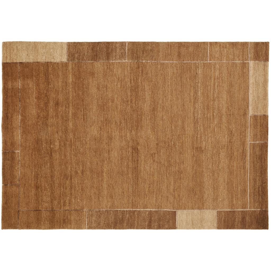 OCI DIE TEPPICHMARKE Wollteppich »Lunaso«, rechteckig, 7 mm Höhe, reine Wolle, handgeknüpft, Wohnzimmer